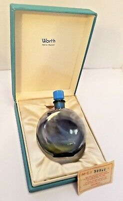 Beautiful ~ Je Reviens ! By Worth Vintage  Perfume Bottle, Lalique French Bottle