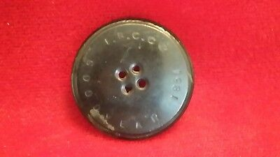 1851 I.R.C.Co Goodyear Button dug Richmond Virginia CS / US