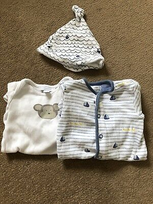 The Little White Company And John Lewis Baby Grows- Up To One Month