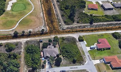LEHIGH ACRES Florida Land for Sale. 0.25 Acres. Water view AND Golf Course LOT!