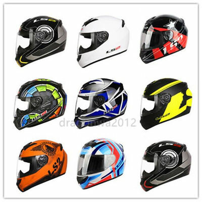 LS2 FF352 FULL FACE MOTORCYCLE MOTORBIKE HELMET SOLID WOLF X-RAY FLUTTER ROOKIE