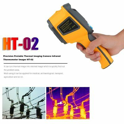 Precision Portable Thermal Imaging Camera Infrared Thermometer Image HT-02 RC