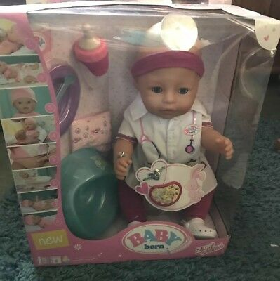Brand New In Box Baby Born Interactive Doll Girl Doctor