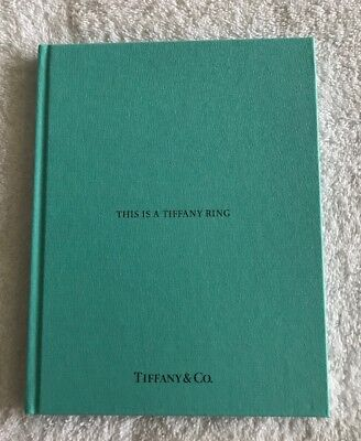 This Is A Tiffany Ring Book By Tiffany & Co.