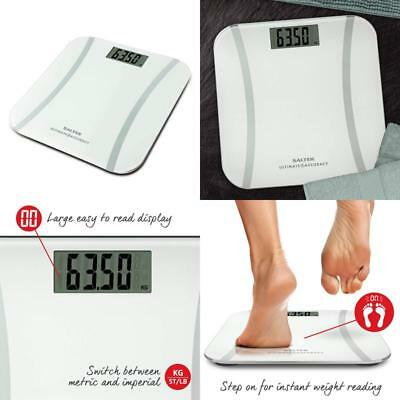 Salter Ultimate Accuracy Electronic Digital Bathroom Scales, Measure 50G Increme