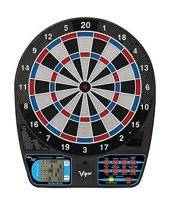 Viper 787 Electronic Dartboard Ultra Thin Spider For Increased Scoring Area