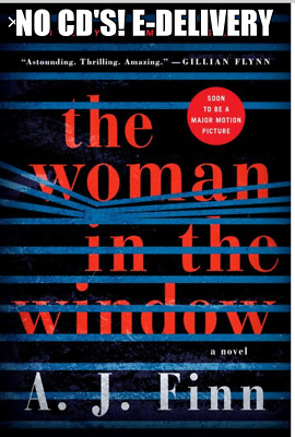 The Woman in the Window A Novel by A. J. Finn (AUDIO BOOK) E-delivery