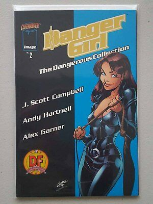 Danger Girl: The Dangerous Collection #2 - Dynamic Forces Gold Foil Variant