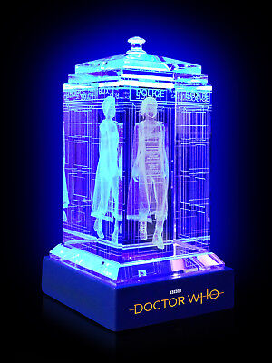 Doctor Who TARDIS Thirteenth Jodie Whittaker Crystal Collectible BBC Licensed