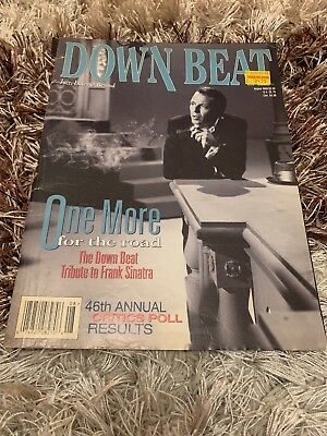 Down Beat Magazine Aug 1998 - One More For The Road - Tribute To Frank Sinatra