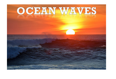 NATURAL SOUNDS CD Crashing Waves On Rocks/shore Relaxation