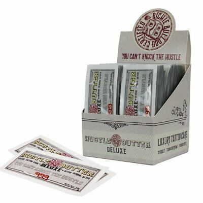 HUSTLE BUTTER Deluxe Tattoo Aftercare Healing Skin Care 7.5g Sachets UK