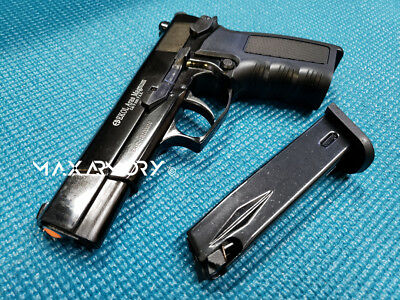 New EKOL ARAS BLACK Semi Top Vent Blank 9mm PA - Safe Movie Prop Gun