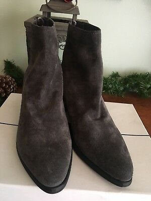 a88d7a4cb9d8 Dolce Vita Womens Cassius Dark Dove Gray Ankle Boots Size 8.5