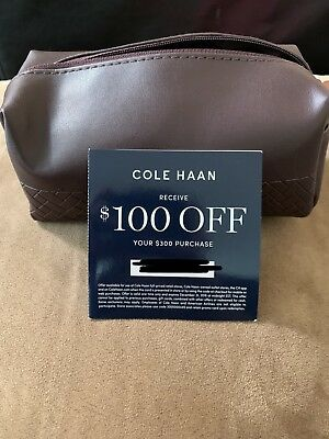 *NEW* 2017 American Airlines International Business Class Amenity Kit COLE HAAN