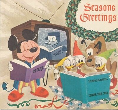 Walt Disney Studios Christmas Card-1954-WDS 43