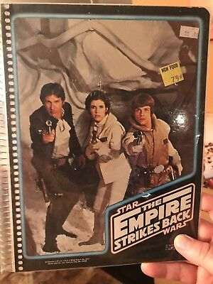 Vintage Star Wars Return Of The Jedi Folder / Binder *MINT*