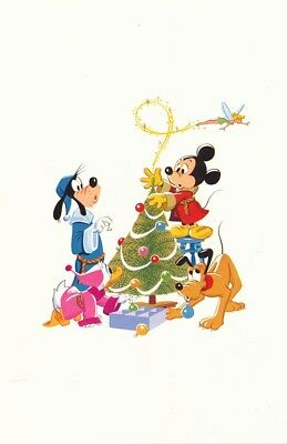 Walt Disney Studios Christmas Card-1982-WDS 90