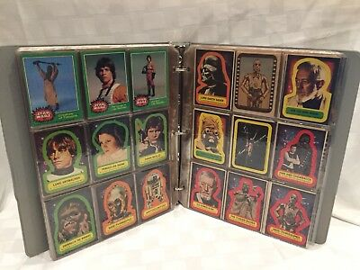 Vintage 1977 STAR WARS Trading Cards Excellent Condition 306 Cards
