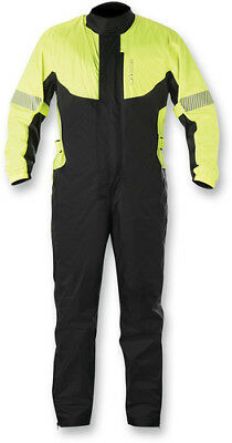 Alpinestars Hurricane Rain Suit Size 3XL Yellow/Black Fluorescent Yellow/Black
