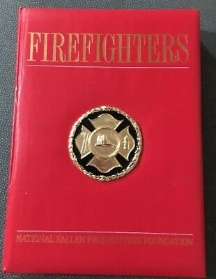 FIREFIGHTERS National Fallen Firefighters Foundation Collectible Book Pictures