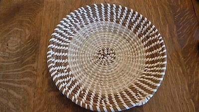 Fabulous SIGNED Sweetgrass Basket-VERY COLLECTIBLE Coiled Basketry