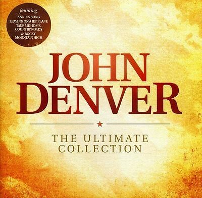 "John Denver  ""The Ultimate Collection"" CD     ( Aug-2011, Sony Music)"