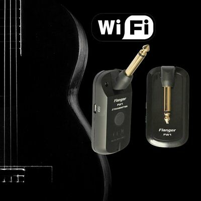 Flanger FW1 Black Guitar Wireless System Rechargeable 2.4HZ pour Guitar BaDY