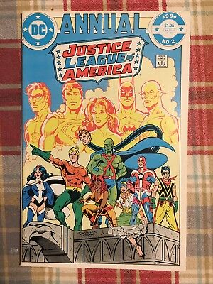 Justice League Of America Annual #2 1st Appearance Vibe Steel Nice! VF DC Comics