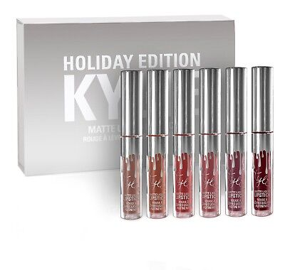 Kylie Jenner Holiday Edition Matte Liquid Lipstick(6 Pcs)