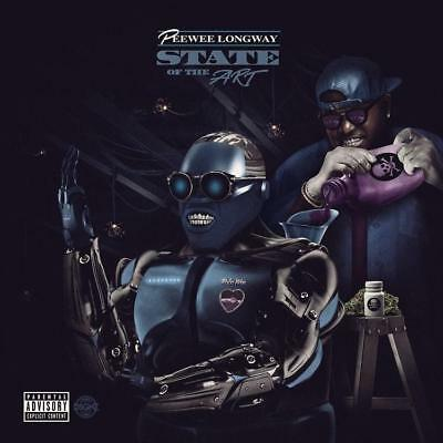 "Pee Wee Longway - ""state Of The Art "" (Official Mixtape) Mix Cd..2018.. Hot!"