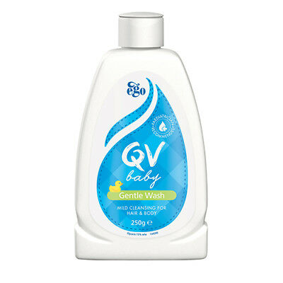 NEW Ego QV Baby Wash Baby Gentle Wash 250g Baby Skin Care Washes