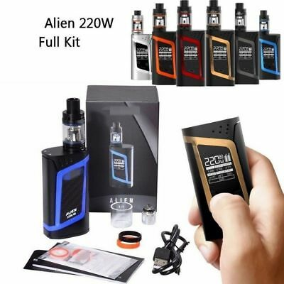 2600mAh 220W Full Kit Vape-Box--E-Pen-Cigarettes Starter Kit Battery USB 3ml