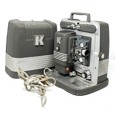 Vintage KEYSTONE K-101 Automatic 8MM Film Movie Projector With Original Case