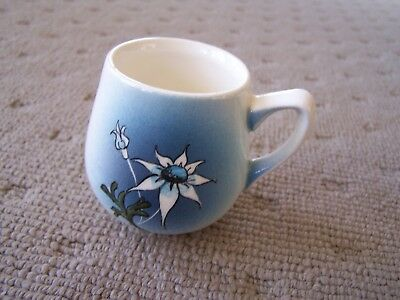 Small Studio Anna Hand Painted Pottery Cup Mug