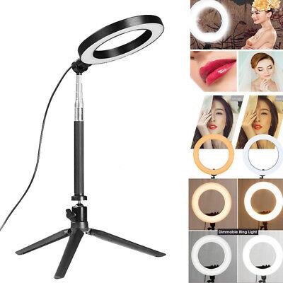 """LED Dimmable Camera Ring Light for Video/Photography 