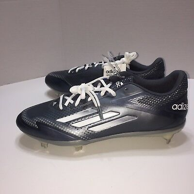new product ee981 13228 Adidas Shoes Size 12 Adizero Afterburner 2.0 Metal Baseball Cleats Gray  S84698