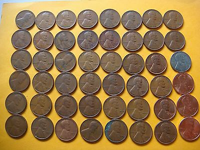 Lot of 48  Lincoln Cents  #9314