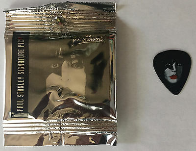 Paul Stanley Kiss Washburn Signature Guitar Pick Sealed in Foil Package New