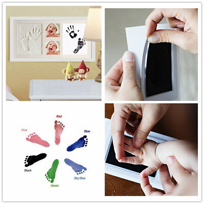 New Baby Paw Print Pad Foot Photo Frame Touch Ink Pad Baby Items Souvenir Gift