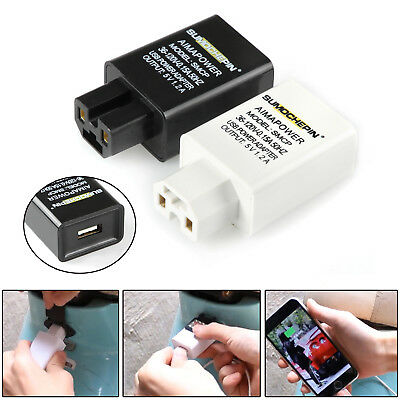 36V-120V 1.2A Motorcycle Electric Vehicle USB Charger Mobile Phone Charging