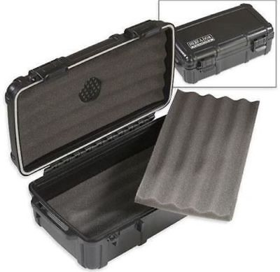 Herf A Dor X10 10 Ten Cigar Caddy Travel Case Humidor Crushproof! Save 50%!!