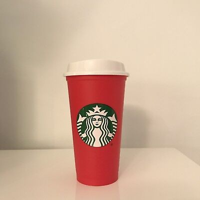 *HTF* Starbucks Reusable Red Cup Holiday 2018 Grande Size