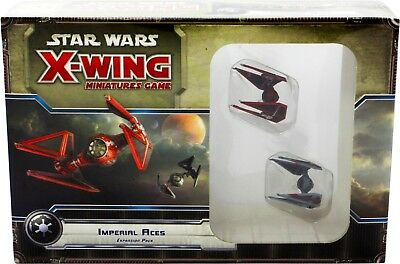 Star Wars X-Wing Miniatures Game: Imperial Aces Expansion Pack - Fantasy Flight