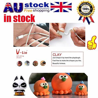 For V-tie Sugru Moldable Glue Clay Self Setting Silicone Repair Rubber Tools L6