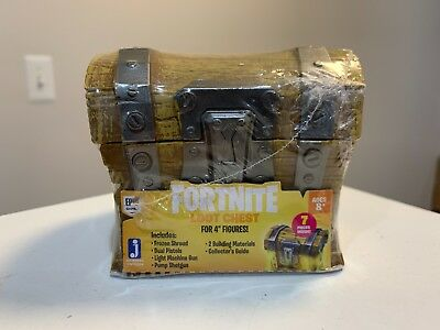 """Fortnite Loot Chest for 4"""" Figures 6 or 7 Pieces - 1 of 5 Treasure Chests"""