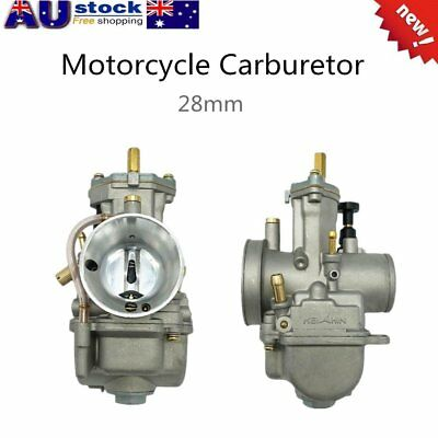 Universal Motorcycle Carburetor 28mm For Keihin Carb PWK Mikuni With Power JetL7