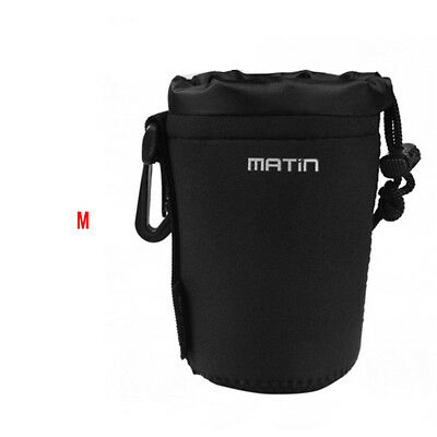 Matin Neoprene Soft Camera Lens Pouch Bag Case Waterproof Size M