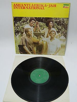 LP  Ashanti Afrika  - Jah International Nigerphone ‎– NXLP 005 Highlife 1981