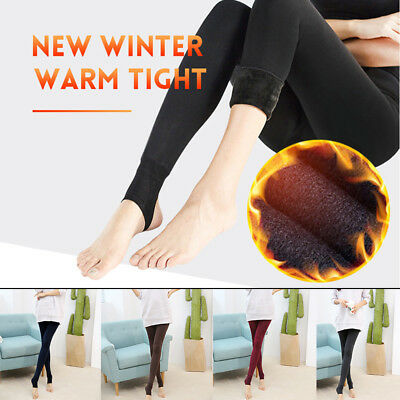 Heat Fleece Winter Leggings lazy lullaby UK